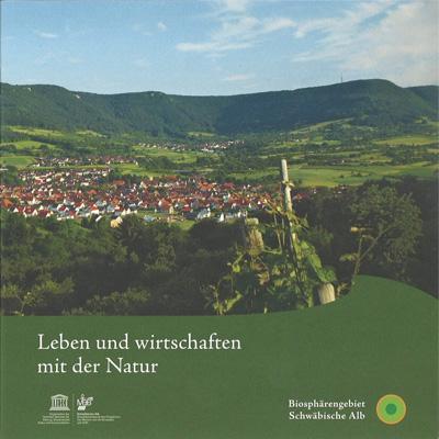 Flyer Reiseziel Natur