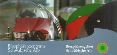 Flyer Biosphärenzentrum Schwäbische Alb