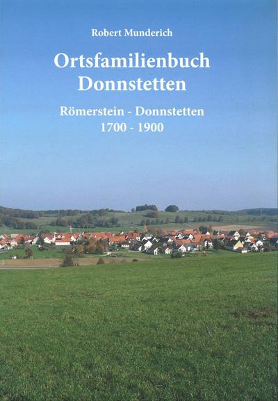Ortsfamilienbuch Donnstetten