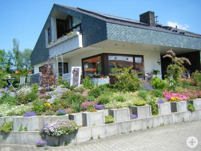 Seitenansicht Haus Müller