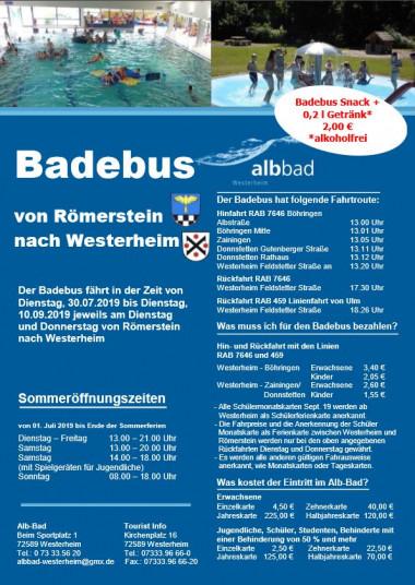 Badebus Römerstein